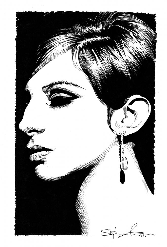 Barbra Streisand par Stefanosart